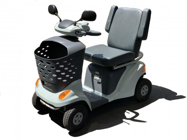 ハンドル型電動車椅子