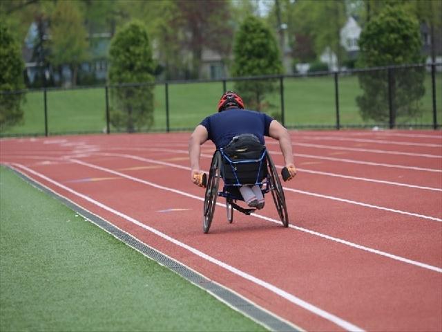 車椅子陸上競技