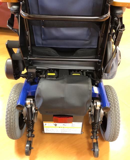 電動車椅子バックスタイル