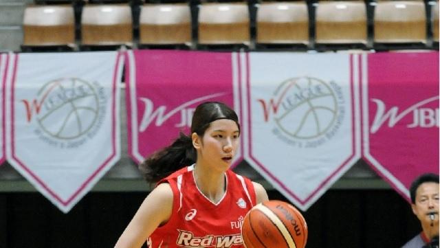 バスケットボール女子選手