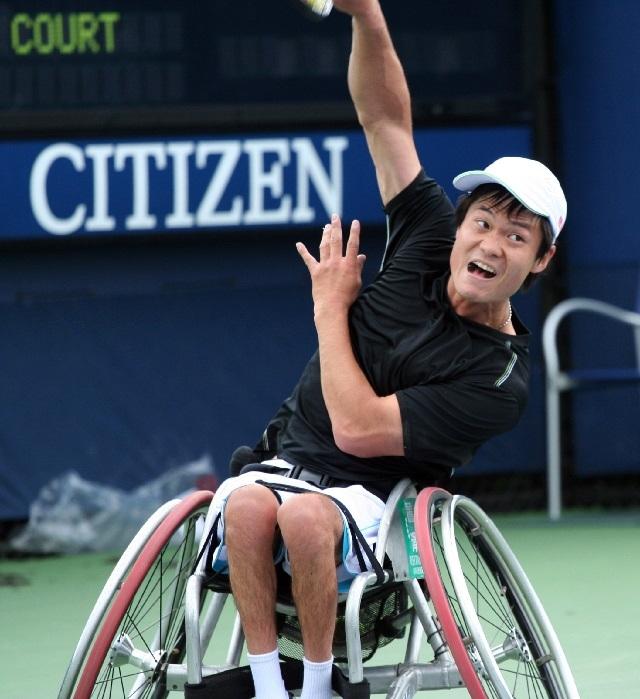 車椅子テニス 国枝選手
