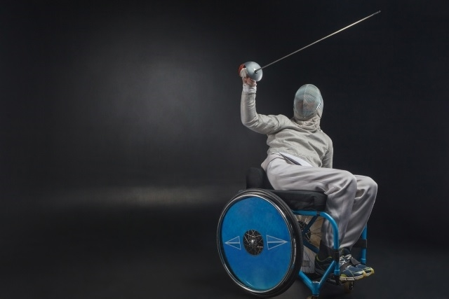 車椅子フェンシングのルール