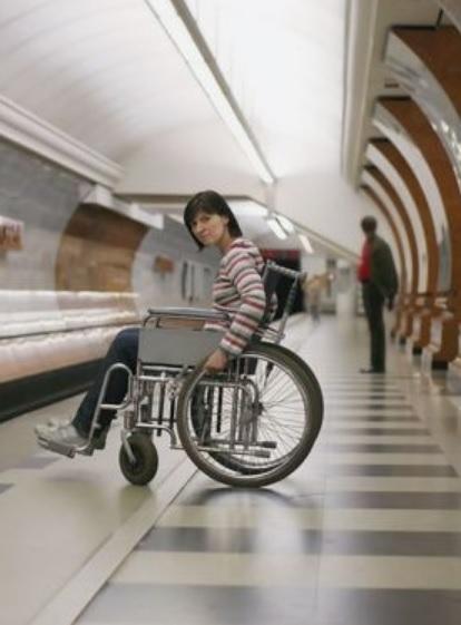 車椅子で電車