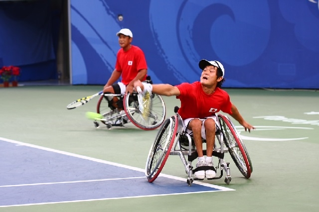 車椅子テニス・ダブルス