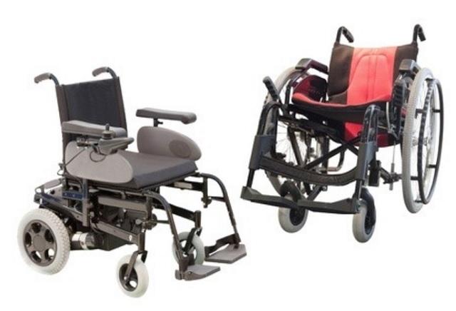 電動車椅子と自走式車椅子