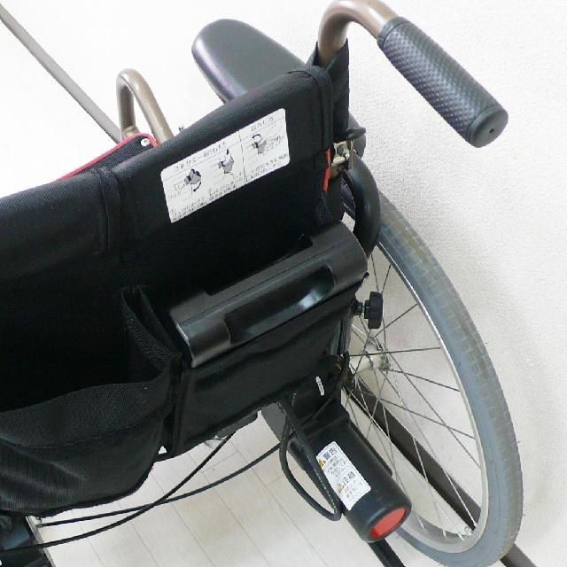 電動車椅子のバッテリー