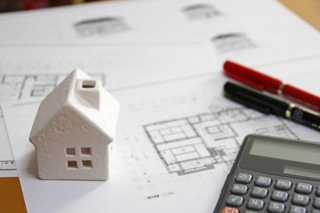 家の建築図